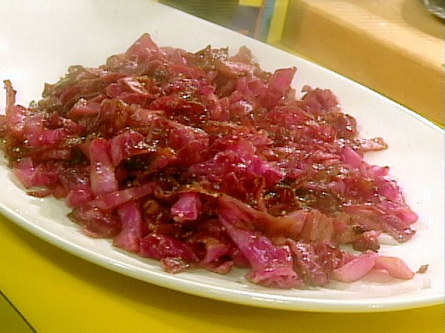 Sauteed Red Cabbage Recipe : Rachael Ray : Food Network - FoodNetwork.com