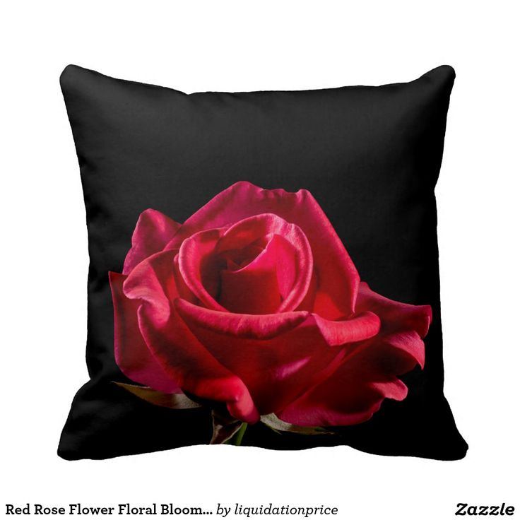 #Red #Rose #Flower #Floral #Bloom #Pillow Redrose #roses #flowers