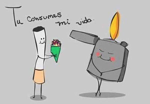 Consumes mi vida - Happy drawings
