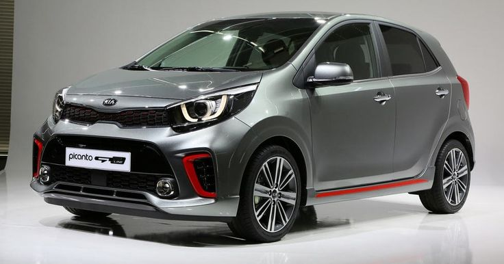 All-New Kia Picanto City Car Detailed, Gains Sporty Turbo Version Too #Galleries #Geneva_Motor_Show