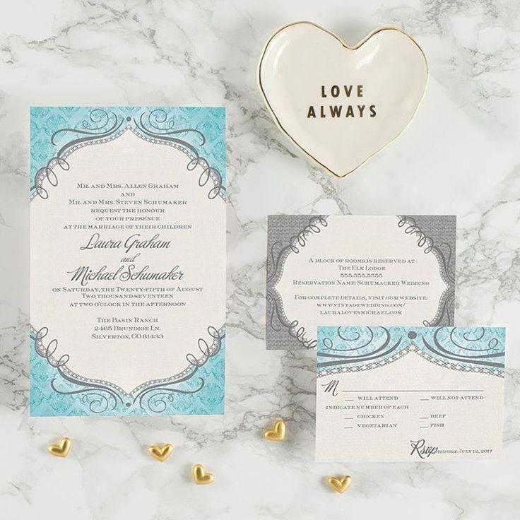 161 best Wedding Invitation Ideas images on Pinterest