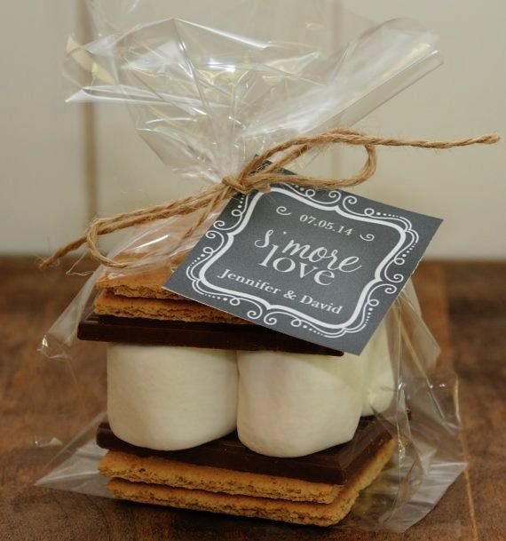 Great Wedding Favors Ideas For Guests Pinterest Smores Wedding Favors Edible Wedding Favors Wedding Favour Kits