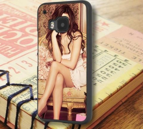 Selena Gomez Singer Sexy Painting HTC One M9 Case