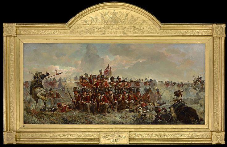 Elizabeth Thompson - The 28th Regiment at Quatre Bras - Google Art ProjectPublic Domain Elizabeth Thompson - GgFy6v2a0UOmWQ at Google Cultur...