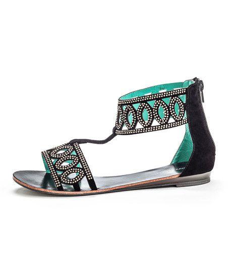 Shoe Zone Lilley Sparkle Black