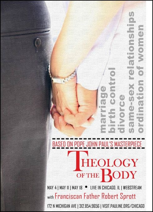 19 best theology of the body images on pinterest the body online theology of the body course three saturdays in may chicago livespiritual lifechristian fandeluxe Images