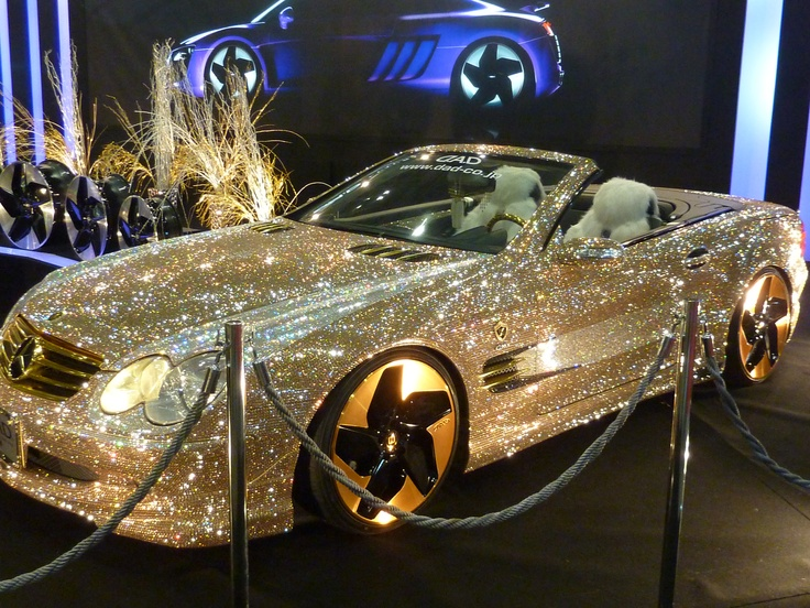 Swarovski Benz omg look at that bling :)