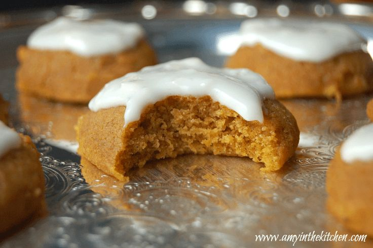 The Best Gluten Free Pumpkin Cookies recipe EVER! Soft, pillowy mounds of heaven in your mouth!