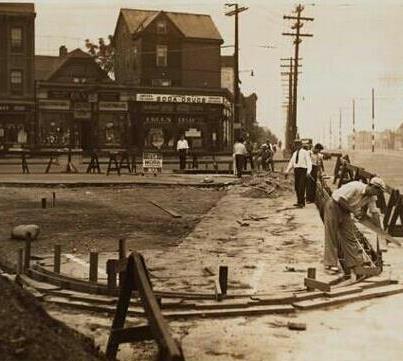 Castle Hill Avenue - 177th Street 1936 ~ Bronx