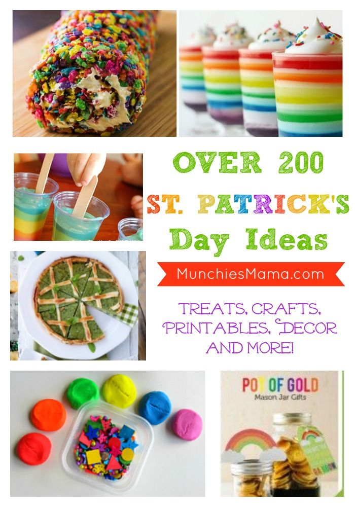 Over 200 St. Patrick's Day Ideas