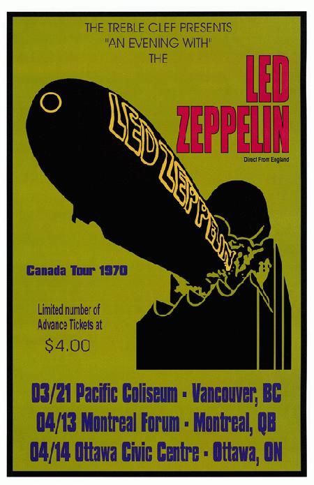 87 Best Images About Led Zeppelin Concert Posters On Pinterest Jethro Tull Madison Square