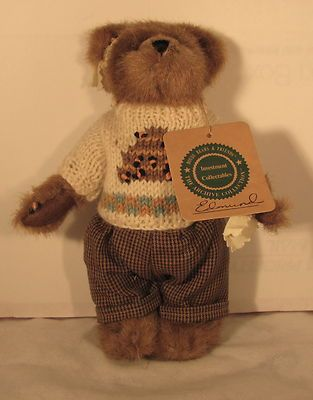 Boyd's Edmund Plush Bear with Bee sweeter and bee stings. -- Sits with Nurses Bailey & Emily Babbit.