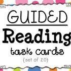 Guided Reading Task Cards {Set of 20}  This packet is designed to provide additional instructional activities at your Guided Reading {small group} ...