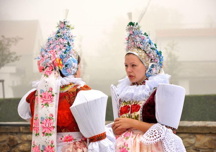 Slavic folk dresses