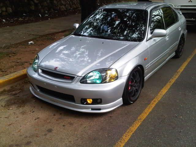 Honda Civic Vi-RS '2000 Gris, Aros 17, Lip, Bi-Xenon, Precioso !!