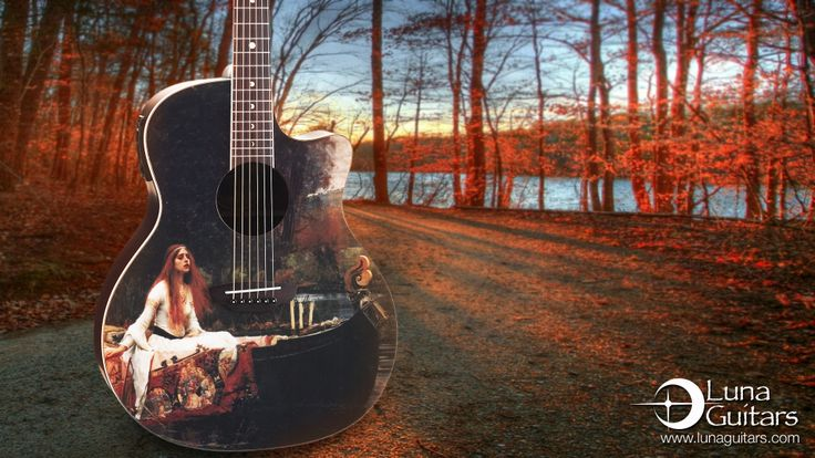 luna guitar wallpapers for desktop click a resolution