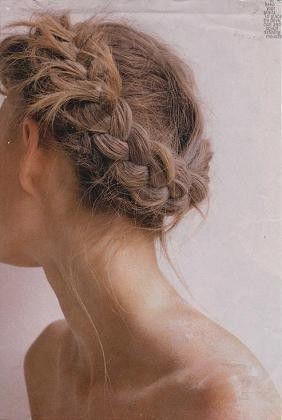 milk-braid | #beautymark