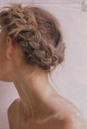 Pretty braids: Hair Beautiful, Braids Hairstyles, French Braids, Braids Hair Style, Wedding Hair, Hairstyles Tutorials, Summer Braids, Crowns Braids, Hair Inspiration