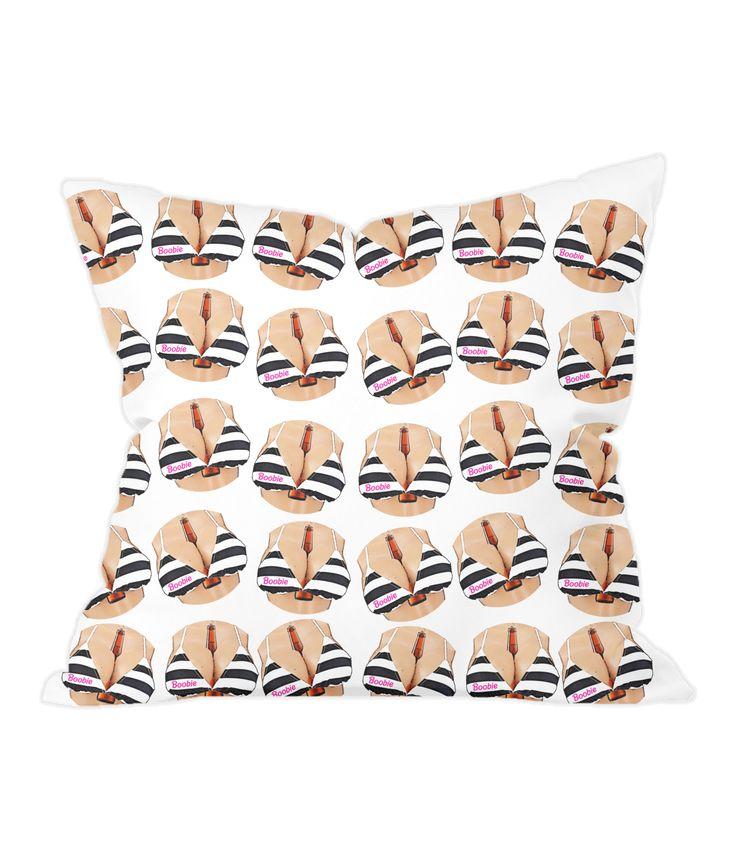Boobs & Beer Cushion Cover...is there anything better? #lager #beer #boobs #boobie #barbie #bikini #beach #beach house #sofa #cushion #fashion #lgbt #pride