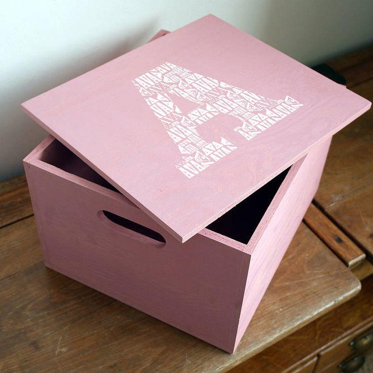 Personalised Baby Keepsake Box from notonthehighstreet.com