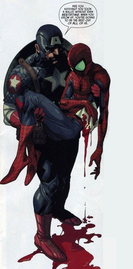 Captain America & Spider-Man