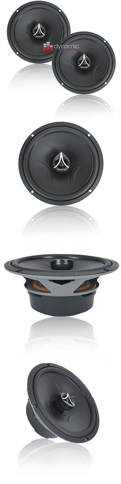 Car Speakers and Speaker Systems: Hertz Esk 165.5 Energy Series 6.5 2-Way Car Audio Component Speakers 300W New BUY IT NOW ONLY: $229.95