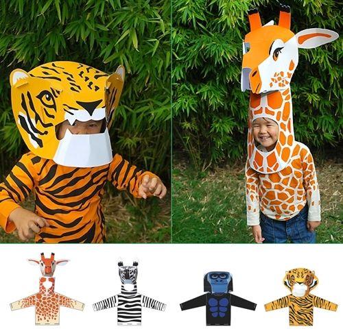 Disfraces infantiles de animales de Coq en Pâte