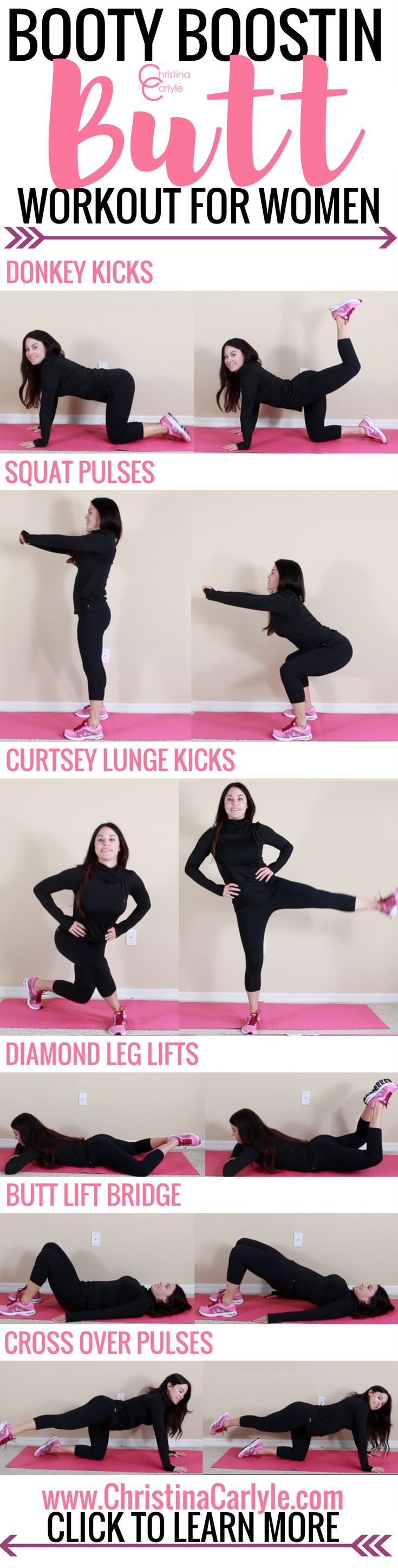 butt exercises - christina carlyle