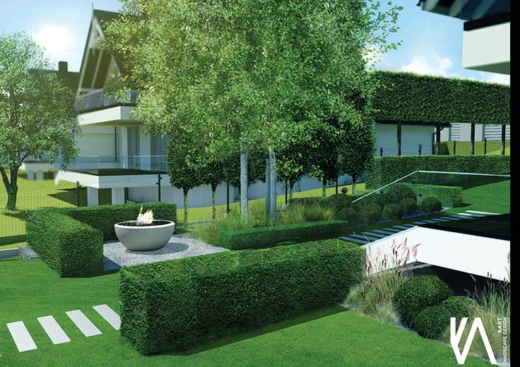 PROJECT / PRIVATE GARDEN 'BRZOZÓWKA' visualisation 'II'  ELEGANCE/ SIMPLYCITY / MINIMALISM