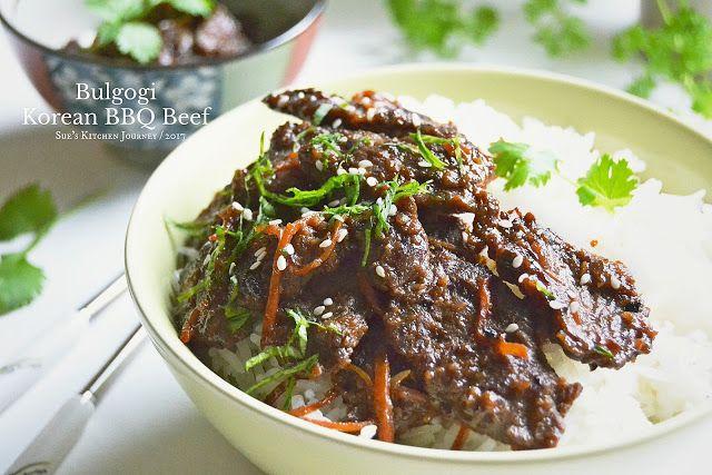 BULGOGI - Korean BBQ Beef