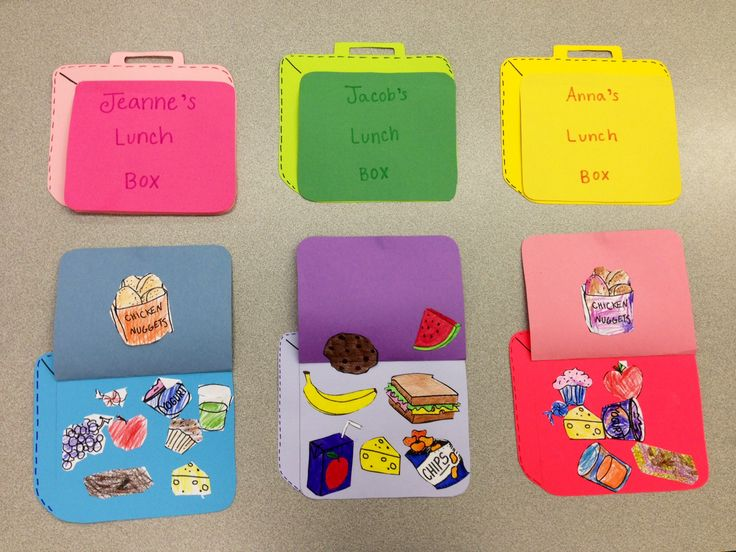 Lunch Box Craft - Healthy Meals for Kids
