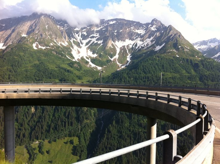 #Roadbiking paradise #Andermatt. Elevated #Gotthard #Passroad towards  #Airolo.   Welcome to the #bike #accommodation and #hostel in #andermatt, #swiss #Alps  www.basecamp-andermatt.com
