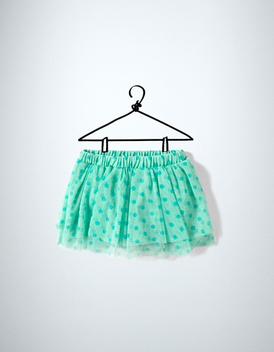 polka dot tulle skirt - Skirts and shorts - Baby girl (3-36 months) - Kids - New collection - ZARA United States