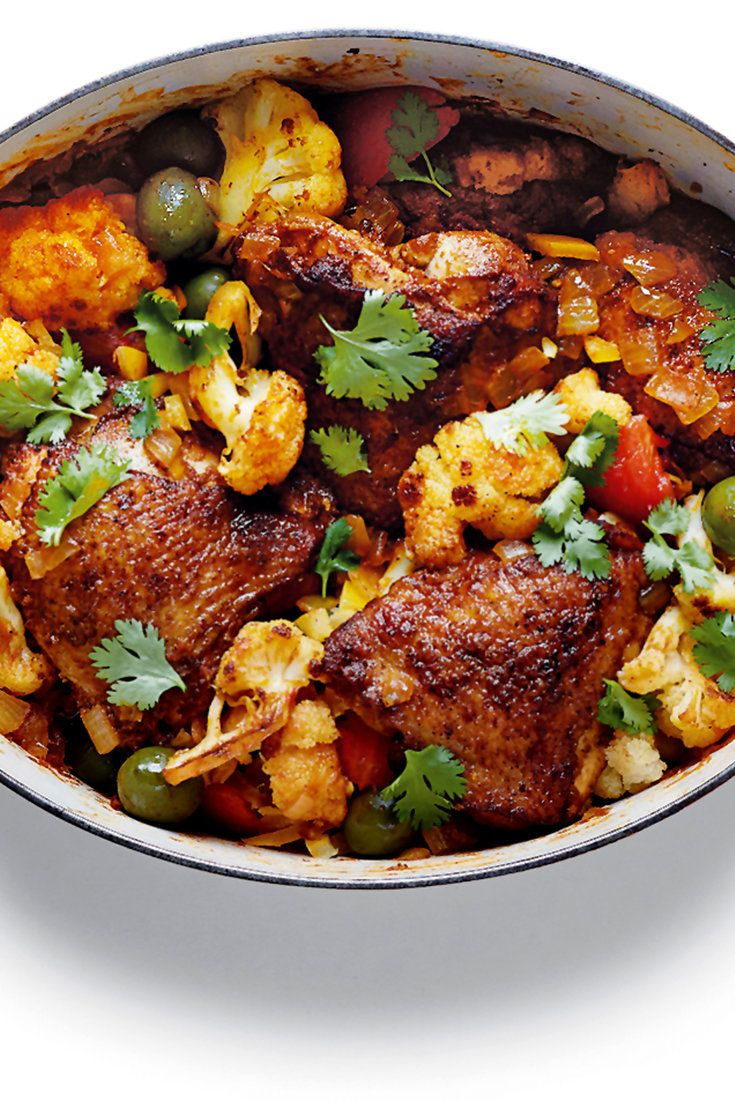 NYT Cooking: This recipe for an elegant North African stew comes out of the kitchen of Boulud Sud, Daniel Boulud's sophisticated Mediterranean French restaurant in New York. It is a dish steeped in the flavors of North Africa, but also of France. Chicken serves as the protein, bathed in a blend of North African spices — cinnamon and coriander, turmeric, ginger powder and cardamom —%2...