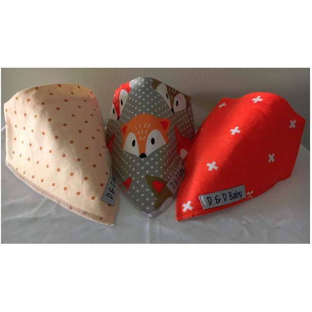 Cheeky Little Fox - Bandana Bibs