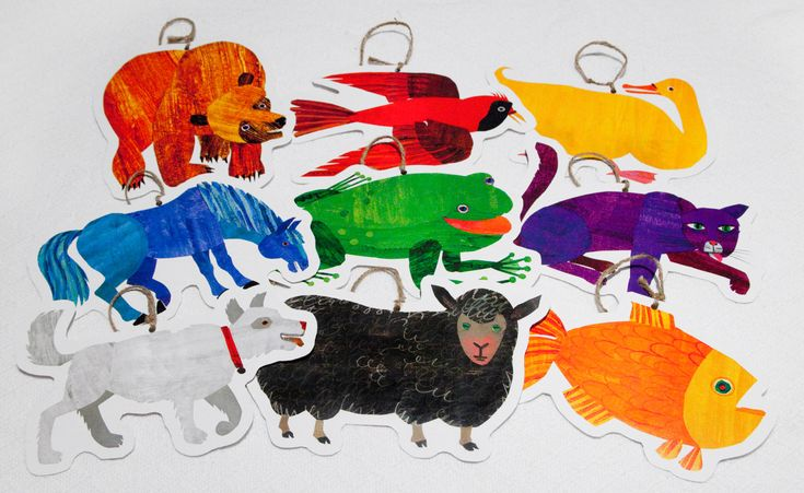 Brown Bear Book Characters Party Decorations. $24.50, via Etsy.