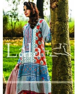 Asian Clothes in Lawn Fabric by Sana Samia Lala