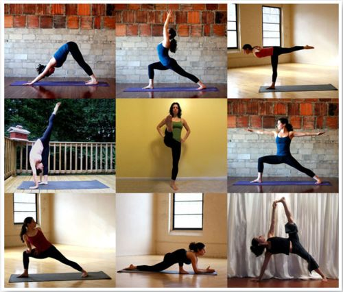 On The Go Flow - Printable Yoga Sequence