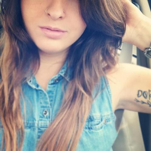 Thinking of getting this done this week!  double nose piercing | Tumblr