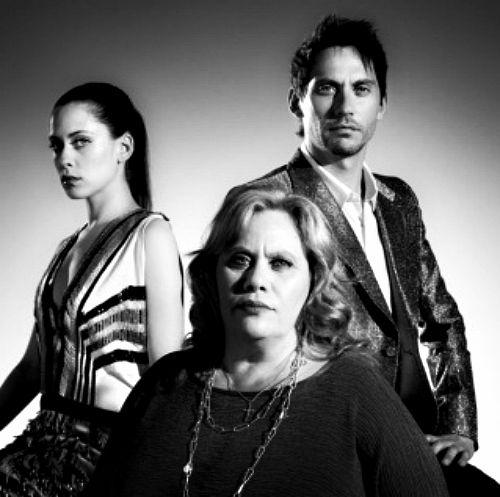 Familia Leon -Barrios : Maria, Paco Leon y Carmina...
