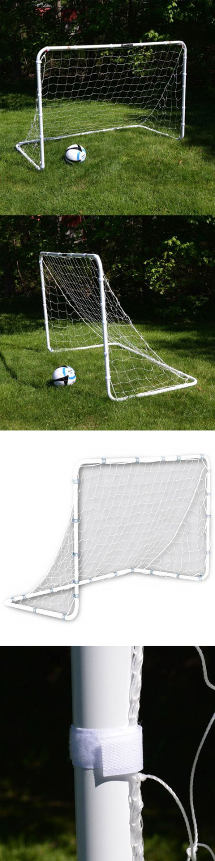 Goals and Nets 159180: 6 X 4 Portable Soccer Goal Football Training Outdoor Kids Sport Steel Foldable -> BUY IT NOW ONLY: $44.89 on eBay!