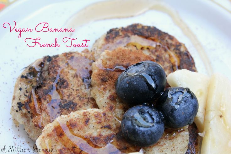 Vegan banana french toast with Silk Soy Milk #rethinkwhatyoudrink