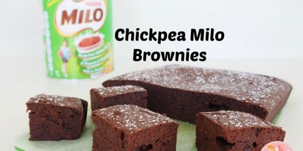 Chickpea Milo Brownies | Stay at Home Mum