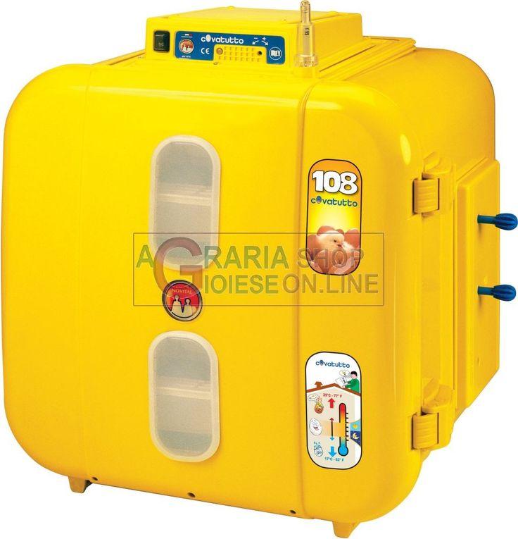 NOVITAL INCUBATRICE COVATUTTO 108 UOVA DI GALLINA ANALOGICA http://www.decariashop.it/incubatrici/12174-novital-incubatrice-covatutto-108-uova-di-gallina-analogica-8010213978081.html
