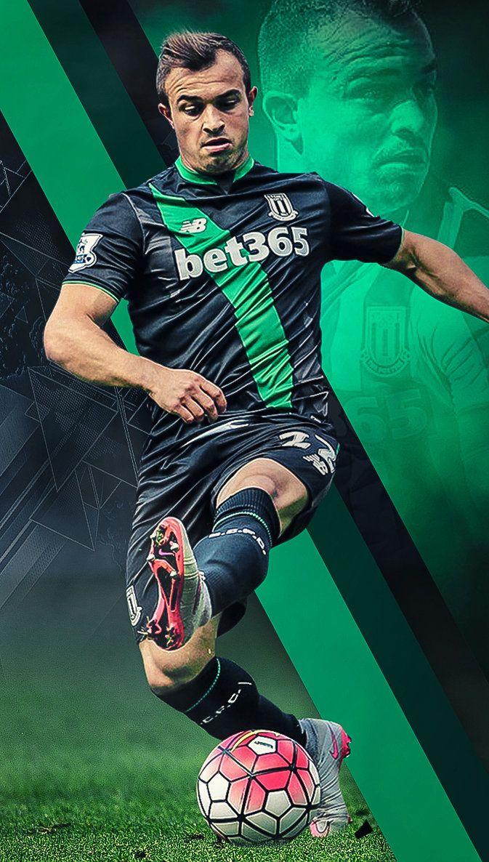Xherdan Shaqiri Wallpaper By Https Kerimov23 Deviantart Com On Deviantart Soccer Players Wallpaper Football Players