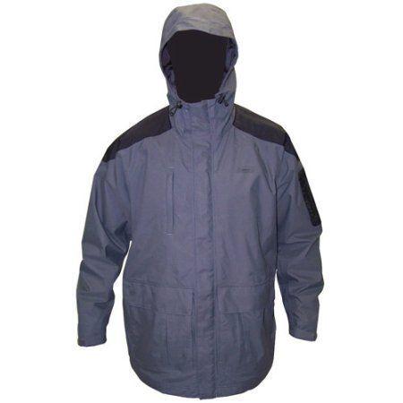 Coleman Apparel Chilko River Men's Parka Jacket, Grey, 3XL, Size: Medium, Gray