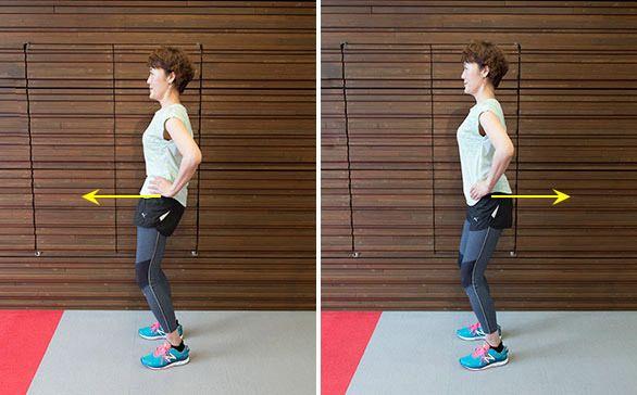「骨盤にゆがみがあると歩き方に影響するのはもちろん、腰痛や便秘、おなか太りの原因にもなってしまう」と、「骨盤腸整ウォーキング」を提案する山崎美歩呼先生はいいます。そこで、おなか周りをスッキリさせる骨盤エクササイズを紹介。