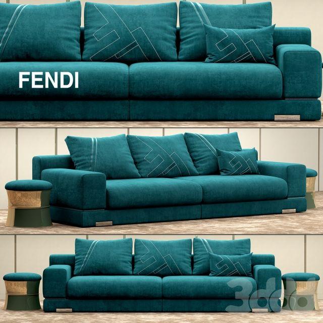 157 best fendi interiors images on pinterest | fendi, kitchen and ... - Fendi Sofa