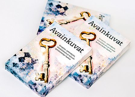 Avainkuvat is a deck of 60 illustrated associative cards. More info www.camala.fi