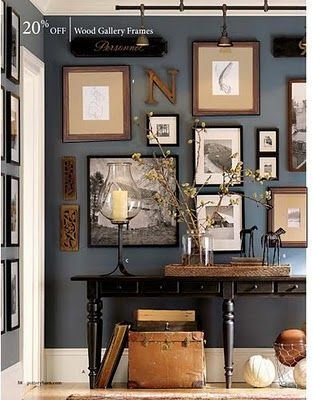 newburyport blue benjamin moore. Just painted Boyd's bathroom this color after seeing this picture!